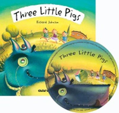 Three Little Pigs, CD Included  -