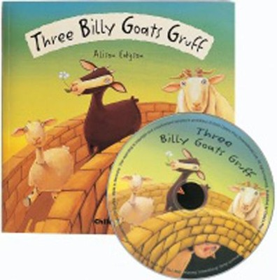 Billy Goats Gruff, CD Included  -