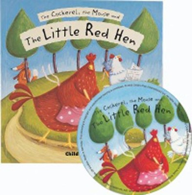 Little Red Hen, CD Included  -