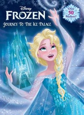 frozen journey to the ice palace jumbo coloring book by rh disney