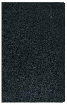 NIV Life Application Study Bible, Personal Size Indexed, Bonded Leather, Black  -