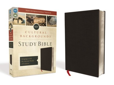 NIV Cultural Backgrounds Study Bible, Bonded Leather, Black  -     By: Craig Keener, John Walton