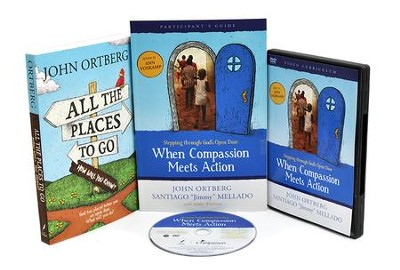 When Compassion Meets Action DVD Church Kit   -     By: John Ortberg, Ann Voskamp, Jimmy Mellado
