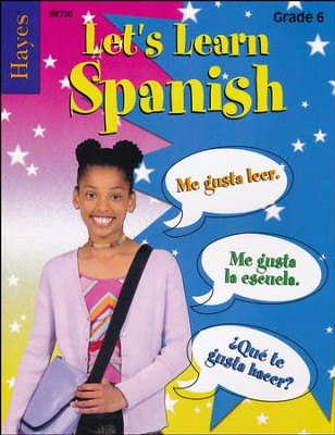 Let's Learn Spanish Grade 6   -