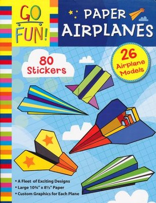 Go Fun! Paper Airplanes  -     By: Accord Publishing