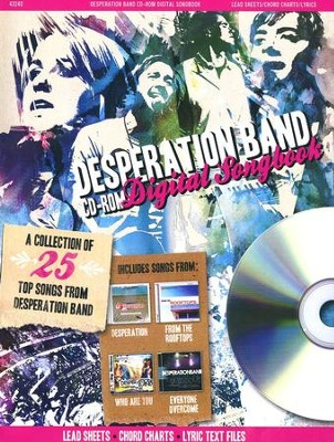 Desperation Band CD-ROM Digital Songbook   -     By: Desperation Band