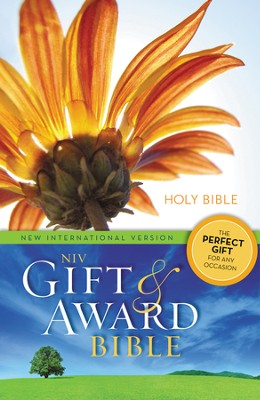 NIV Gift and Award Bible, Flower Design   -