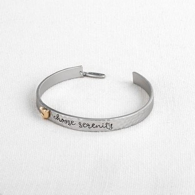 Choose Serenity, Dove, Honor Band, Silver  -