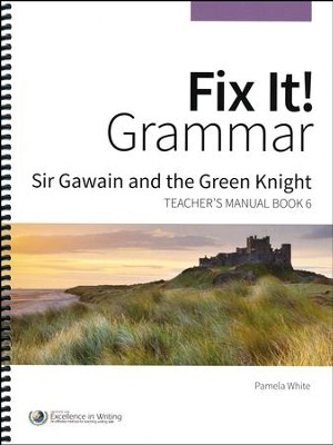 Fix It! Grammar Book 6: Sir Gawain and the Green Knight (Grades 9-12)  -