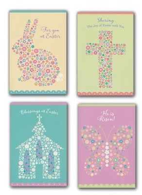 Easter Mosaics Boxed Cards   -