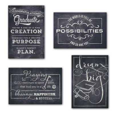 Chalkboard Graduation Boxed Cards  -