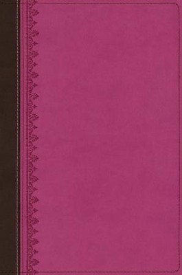 NIV First-Century Study Bible, Italian Duo-Tone Chocolate/Orchid  -     By: Kent Dobson