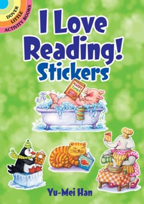 I Love Reading! Stickers  -     By: Yu-Mei Han