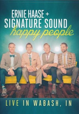 Happy People DVD   -     By: Ernie Haase & Signature Sound