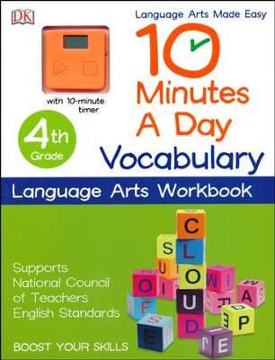 10 Minutes a Day: Vocabulary, Fourth Grade  -