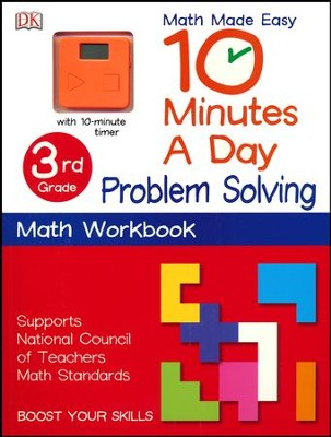 10 Minutes a Day: Problem Solving, Third Grade  -