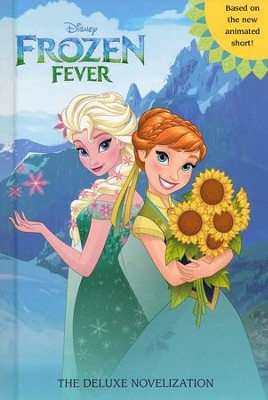 Frozen Fever Hardcover Junior Novelization (Disney Frozen)  -     By: Victoria Saxon