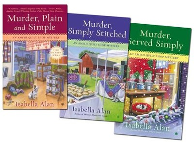 Amish Quilt Shop Mystery Series, Volumes 1-3  -     By: Isabella Alan