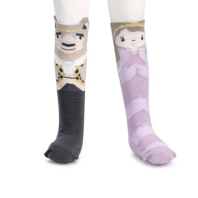 Beauty & The Beast Knee Socks  -