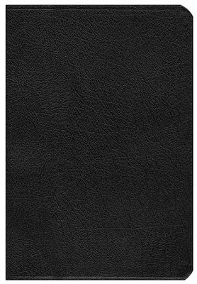 NIV Life Application Study Bible, Large Print, Bonded Leather, Black, Thumb Indexed - Slightly Imperfect  -