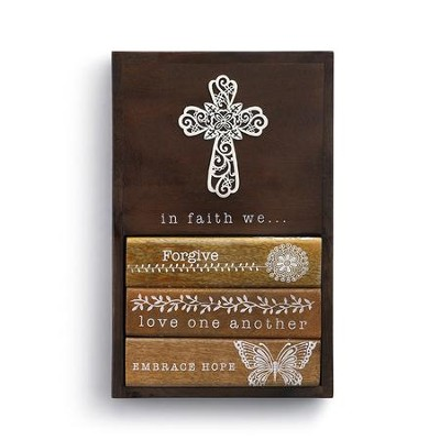 In Faith We... Wall Art  -