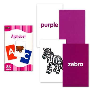 Alphabet, Flash Cards  -