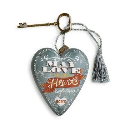 May Love Be the Heart of This Home, Art Heart  -     By: Lori Lynn Simmons