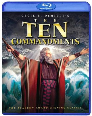 The Ten Commandments: 55th Anniversary Edition, 2 Blu-rays   -