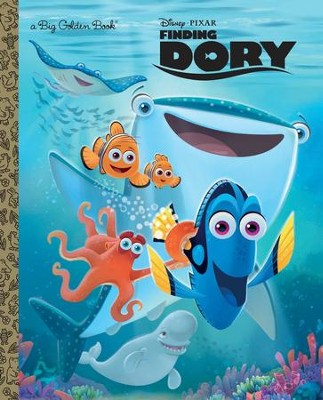 Finding Dory Big Golden Book  -     By: Editors
