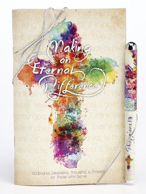 You Make an Eternal Difference Devotional and Pen Set  -