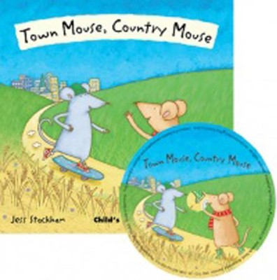 Town Mouse, Country Mouse, CD Included  -