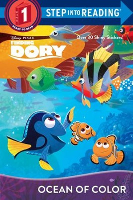 Finding Dory - Deluxe Step Into Reading #1  -     By: Editors