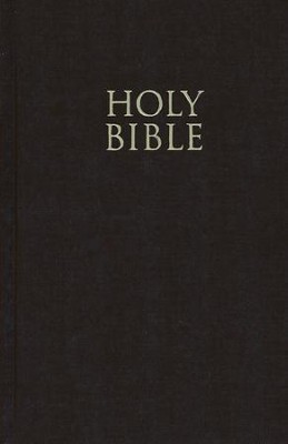 NIV Pew Bible, Large Print, Brown   -