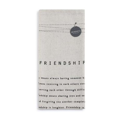 Friendship Tea Towel  -