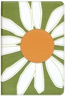 NIV Compact Thinline Bible, Bloom Collection, Daisy Duo-Tone  -