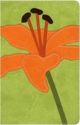 NIV Compact Thinline, Bloom Collection, Tiger Lily Duo-Tone  -
