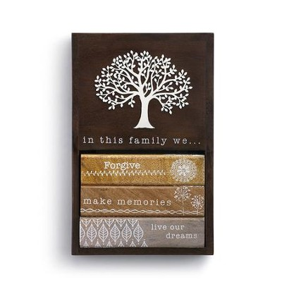 In This Family   Wall Decor   -