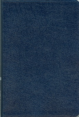 NIV Compact Thinline Bible, Navy - Slightly Imperfect  -