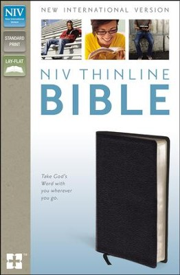 NIV Thinline Bible, Black  -