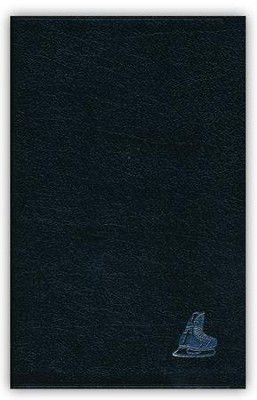 Hockey ministries: NIV Thinline Bible, Bonded Leather  Black- corner logo edition  -