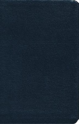 NIV Thinline Bible, Navy, Thumb-Indexed  - Imperfectly Imprinted Bibles  -