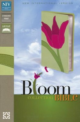 NIV Thinline Bible, Bloom Collection, Tulip Duo-Tone  -