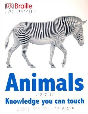 DK Braille Books: Animals  -
