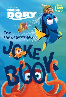 Finding Dory Joke Book  -     By: Editors