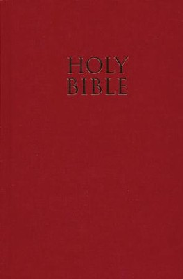 NIV Pew Bible, Hardcover, Red   -