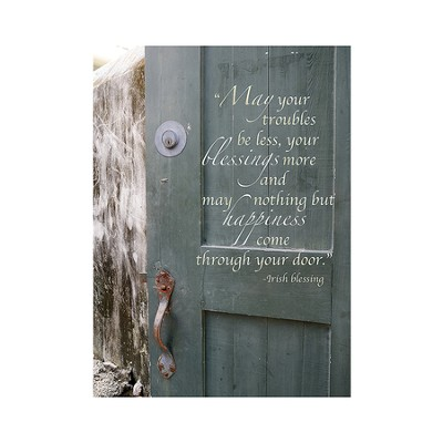 Irish Blessing Magnet, Small  -     By: Tiffany Kimmet