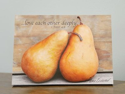 Love Each Other Deeply Plaque  -     By: Tiffany Kimmet