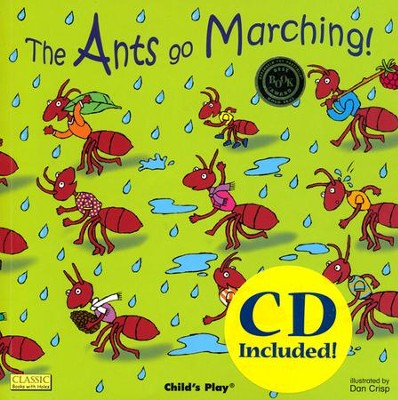 Ants Go Marching with CD  -