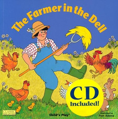 Farmer in the Dell with CD  -