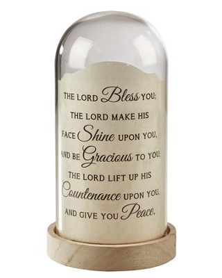 The Lord Bless You, Numbers 6:24-26, Light Jar  -